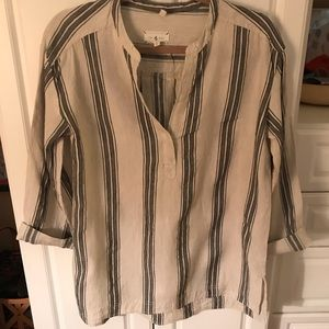 Lou and grey striped tunic small worn once fits 8